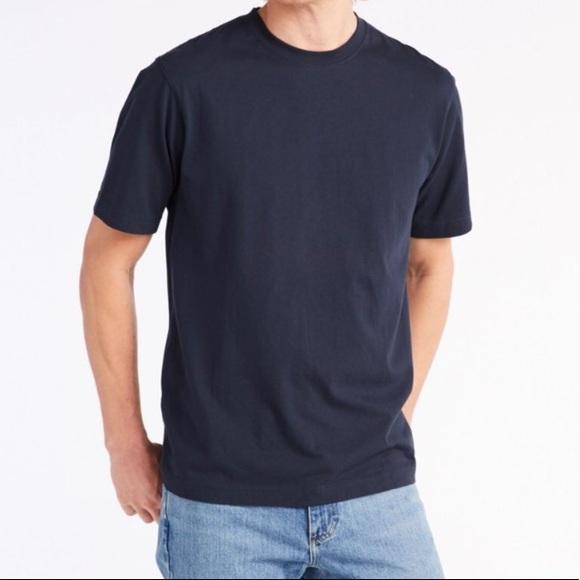 296293dddb2c L.L. Bean Shirts | Nwt Ll Bean Black Carefree Unshrinkable Tee Lrg ...